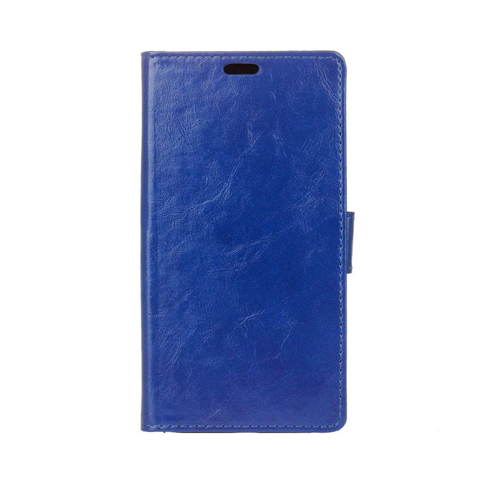 Sony Xperia X Compact Leder Tasche Portemonnaie mit Aufstellfunktion - Blau